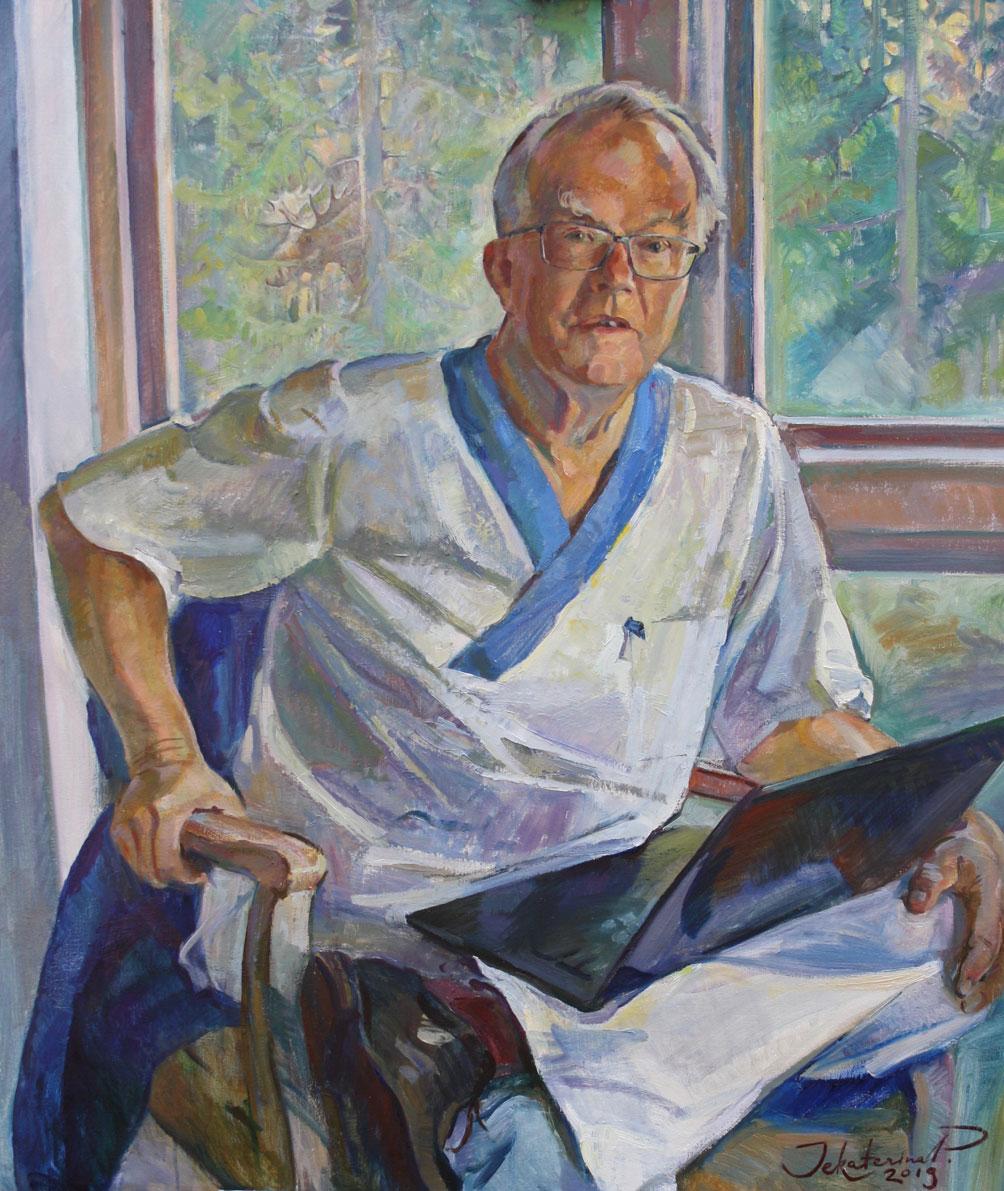 Martin Björk, professor i kärlkirurgi